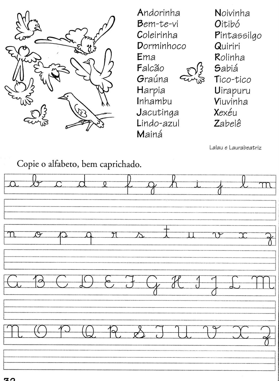 Coisas De Escola 1o Ano Aprendendo A Letra Cursiva