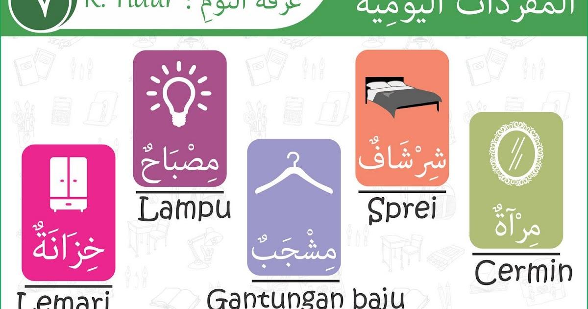 Kosakata Harian Bahasa Arab 007 Rumah Dan Ruang Tidur 2 Tutorial