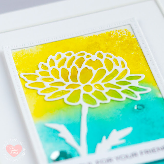 Clean and Simple Cards for Simon Says Stamp Blossoms and Butterflies Release ft. Dahlia Frame Die by ilovedoingallthingscrafty.com