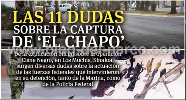Detención del Chapo, La verdad sobre el Montaje del Gobierno Federal