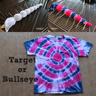 Doodlecraft captain america patriotic tie dye shirt for Tie dye t shirt patterns