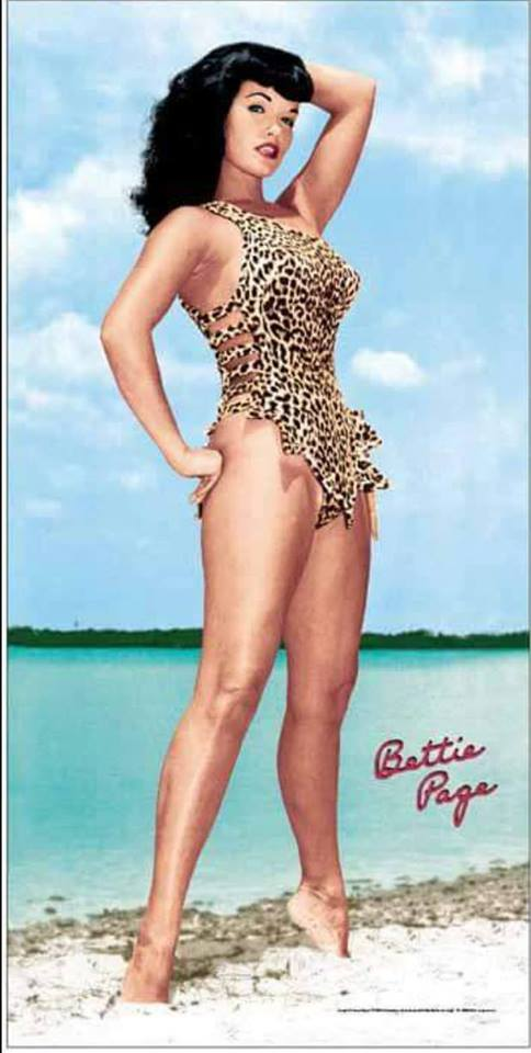 bettie page color # 90