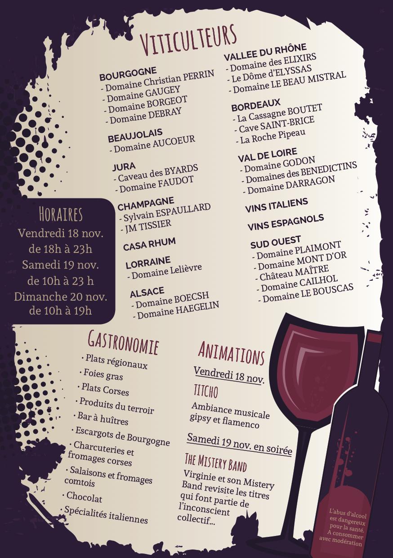 Salon des vins et du go t d 39 audincourt - Salon des vins et produits du terroir ...