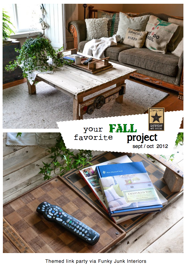 Your favorite FALL (Sept / Oct 2012) project via Funky Junk Interiors