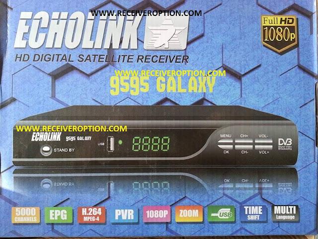 ECHOLINK 9595 GALAXY HD RECEIVER CCCAM OPTION