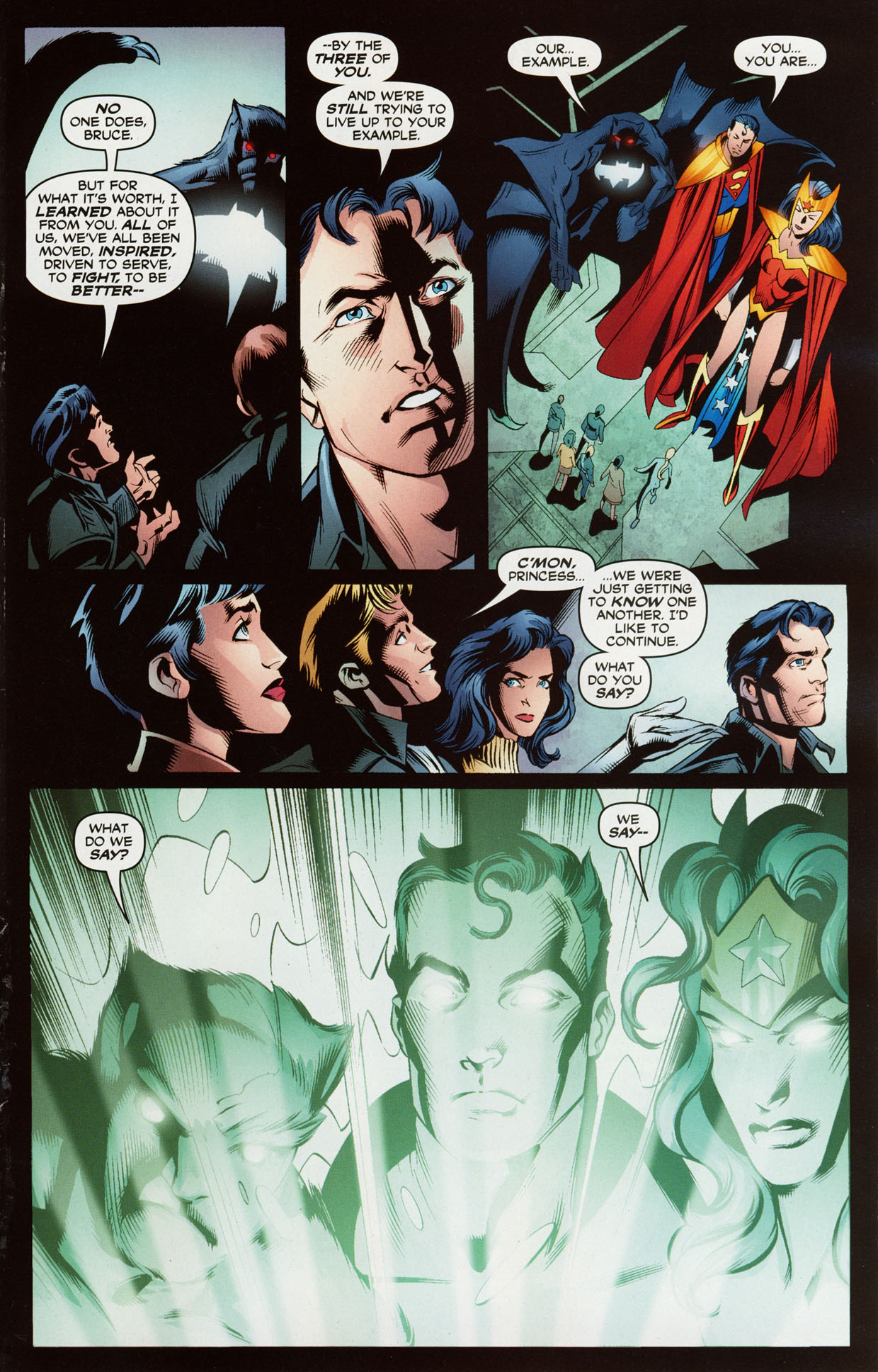 Read online Trinity (2008) comic -  Issue #38 - 16