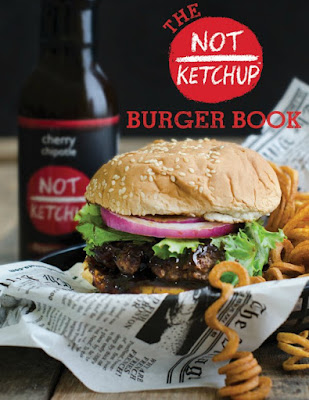 The Not Ketchup Burger Book, a free new ebook with 10 delicious burgers for summer entertaining