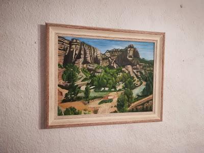 Cuadro de Carmen Latorre, coves de Betrol, racó de San Antoni 2