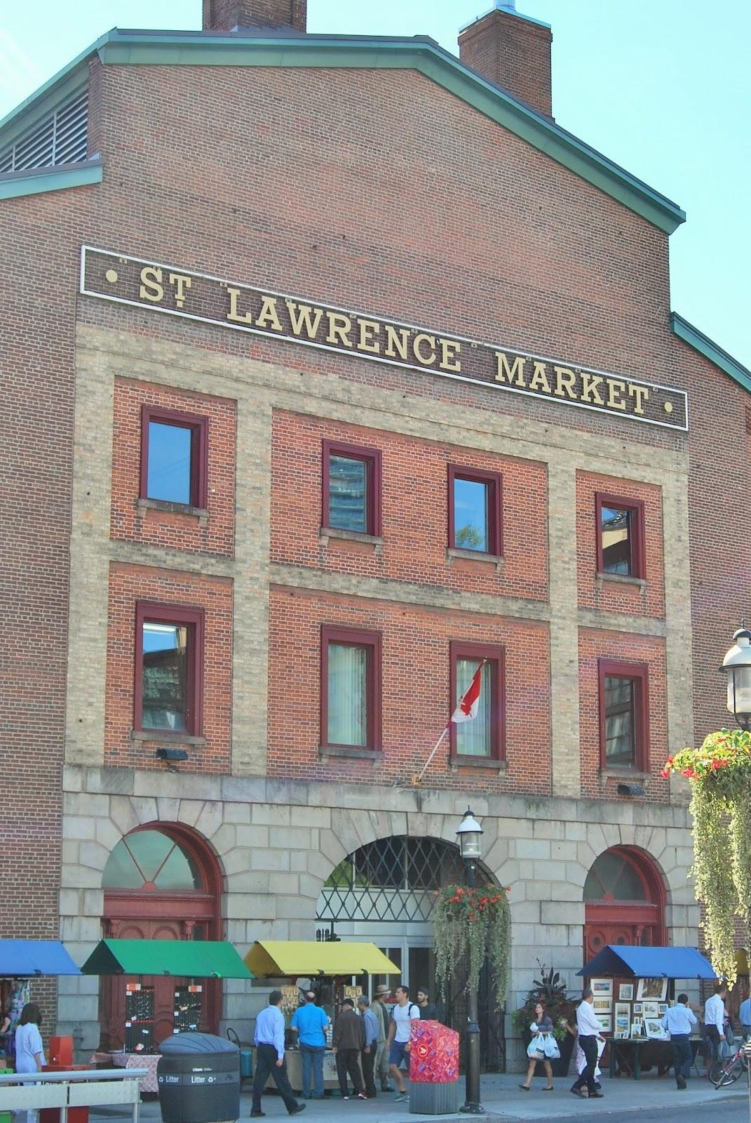 St Lawrence Market, Toronto, Canada photo by Modern Bric a Brac
