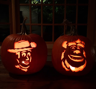 disney pixar pumpkin carving
