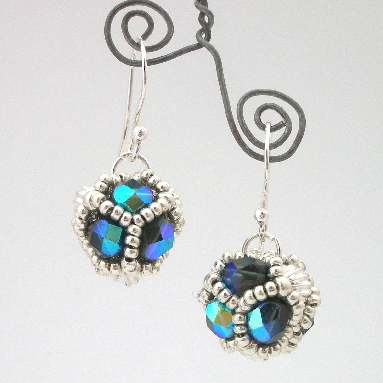 indigenous beaded craft handmade earrings jewellery ecuador in earring