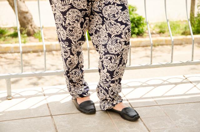 Calça pijama floral