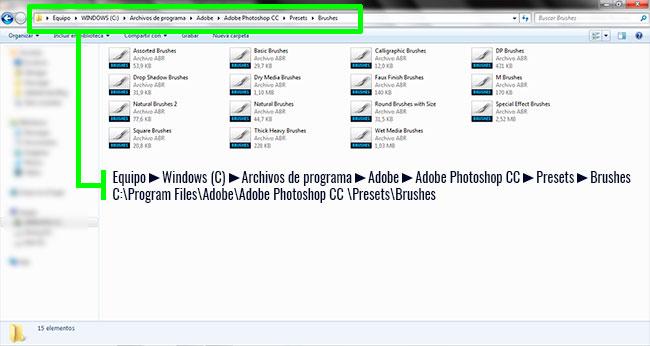 Tutorial Cómo Instalar Pinceles en Adobe Photoshop Imagen_5