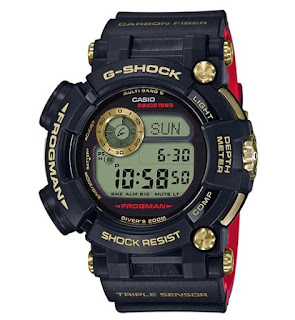 Casio G-Shock 35th Anniversary Gold Tornado Limited Edition GWF-D1035B-1