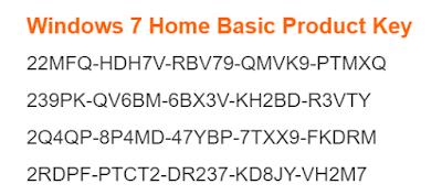 windows 7 home premium key windows 10