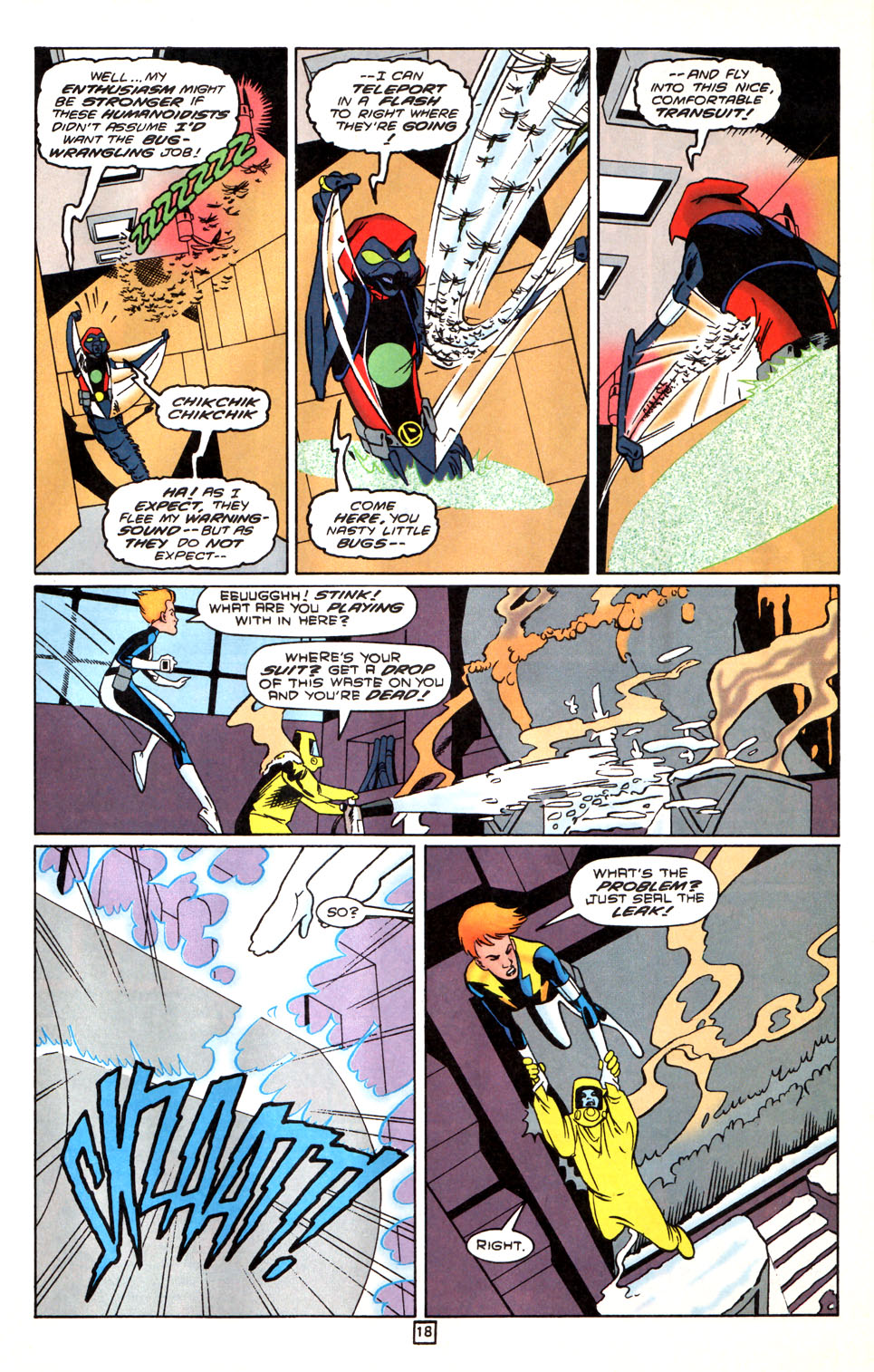 Legion of Super-Heroes (1989) 88 Page 18