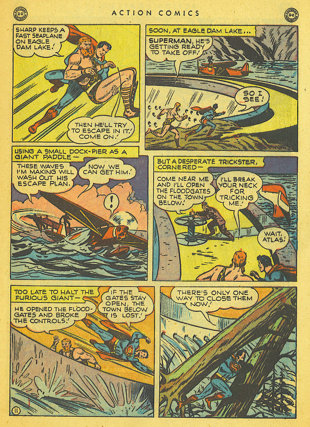 Action Comics (1938) 121 Page 11