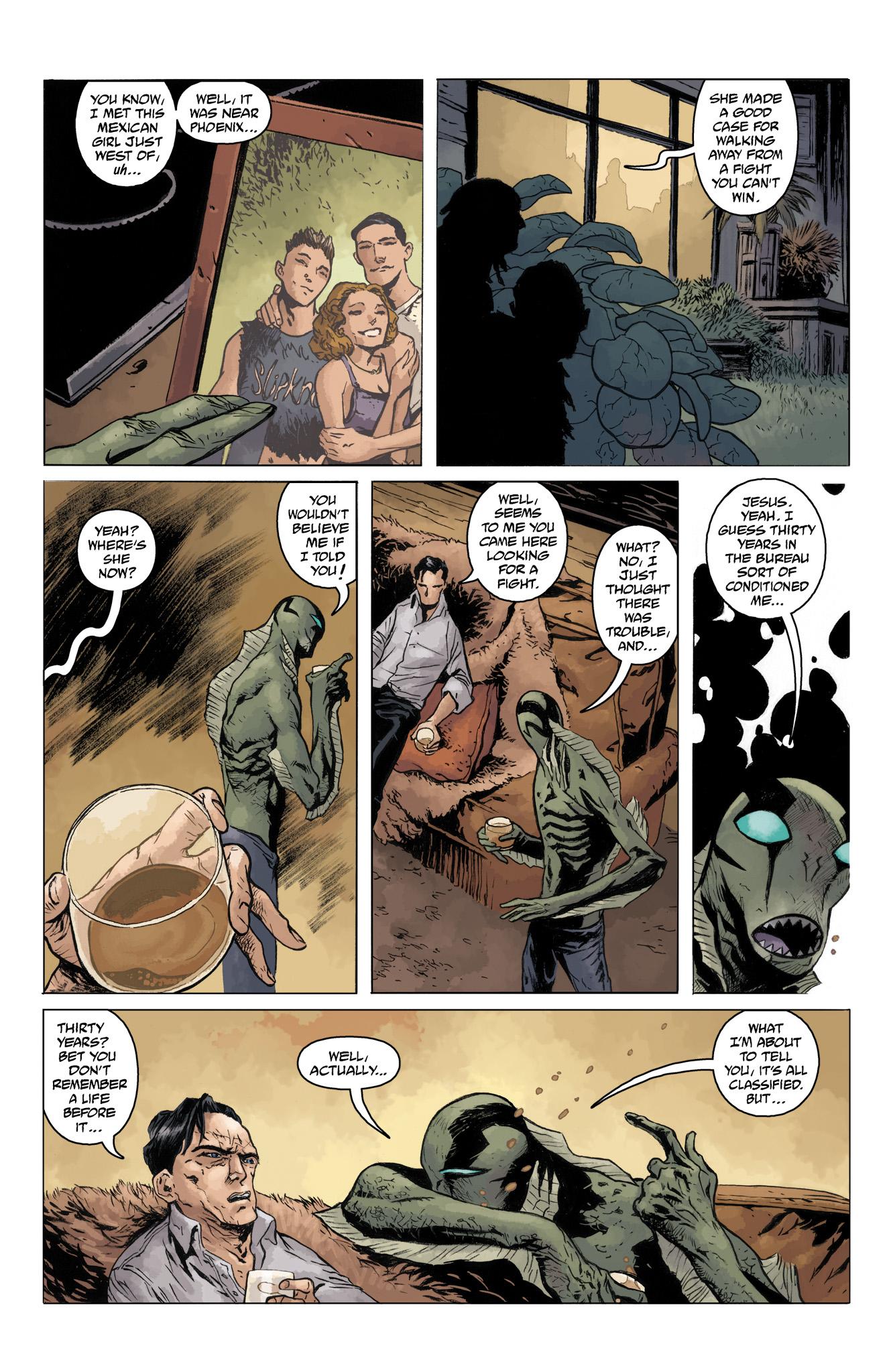 Read online Abe Sapien comic -  Issue #10 - 12