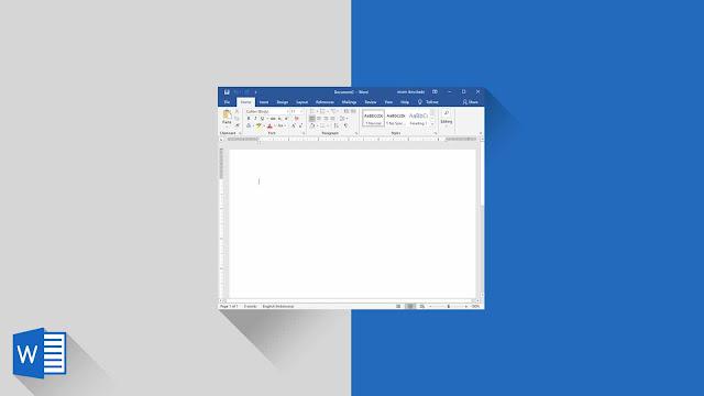 Membuat Dokumen Baru Blank (Kosong) dan Template di Word 2019
