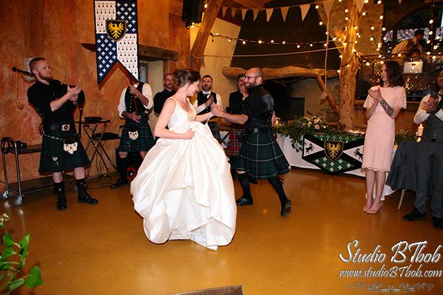 Danse mariage medieval
