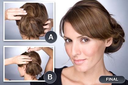 Brilliant Hairstyle Trends Quick And Easy Updo Hairstyles Hairstyles For Women Draintrainus