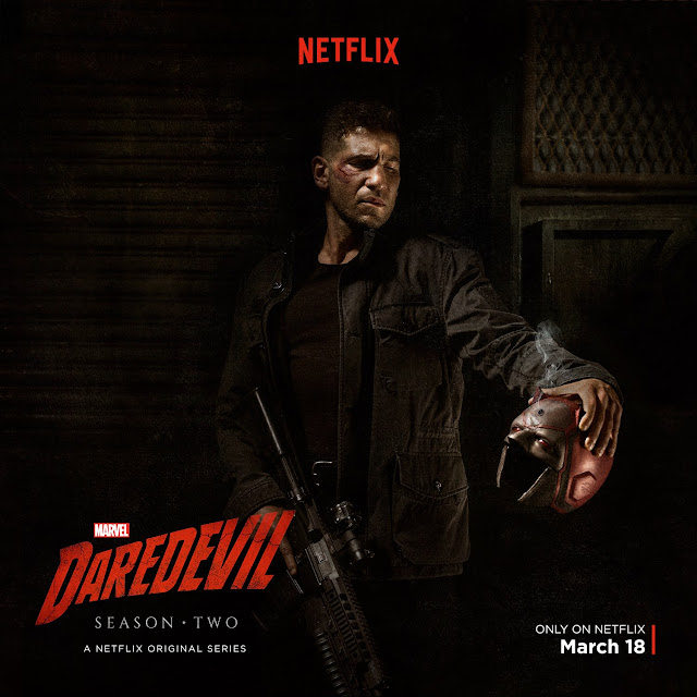 Daredevil Punisher Season 2 Poster
