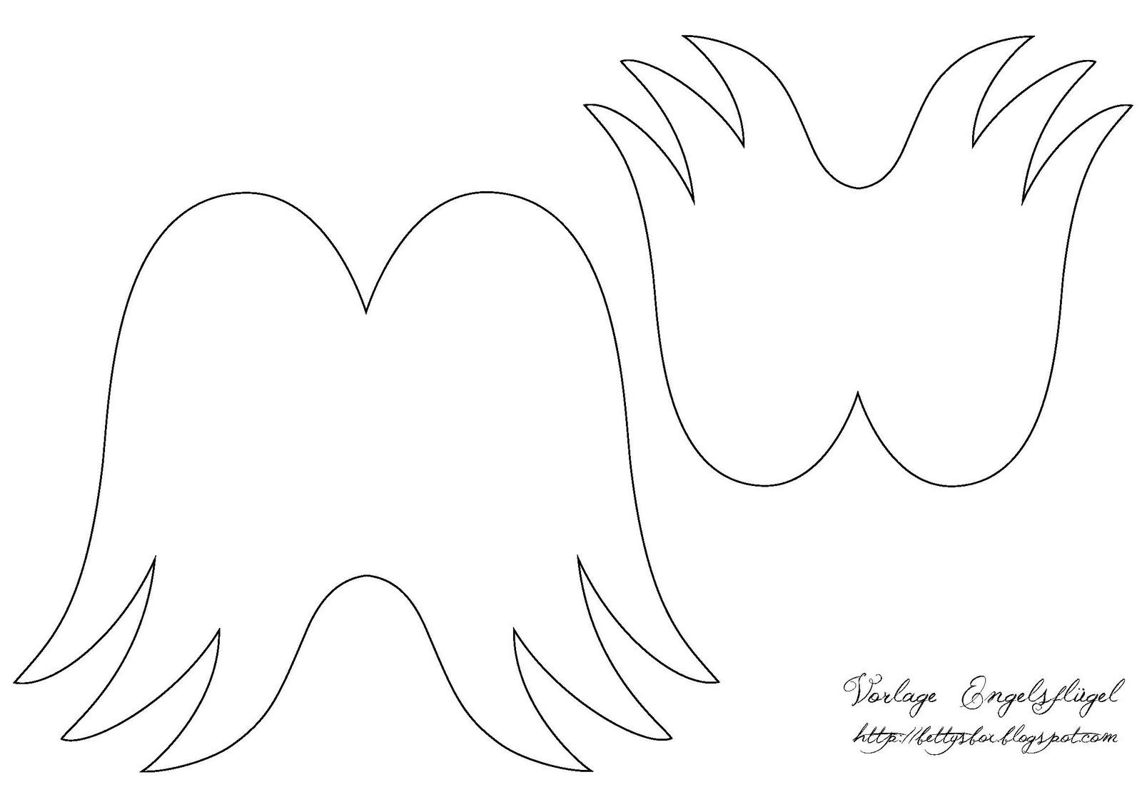 Crafter 's Workshop Vorlage 12 Zoll x 12 Zoll Engel Flügel