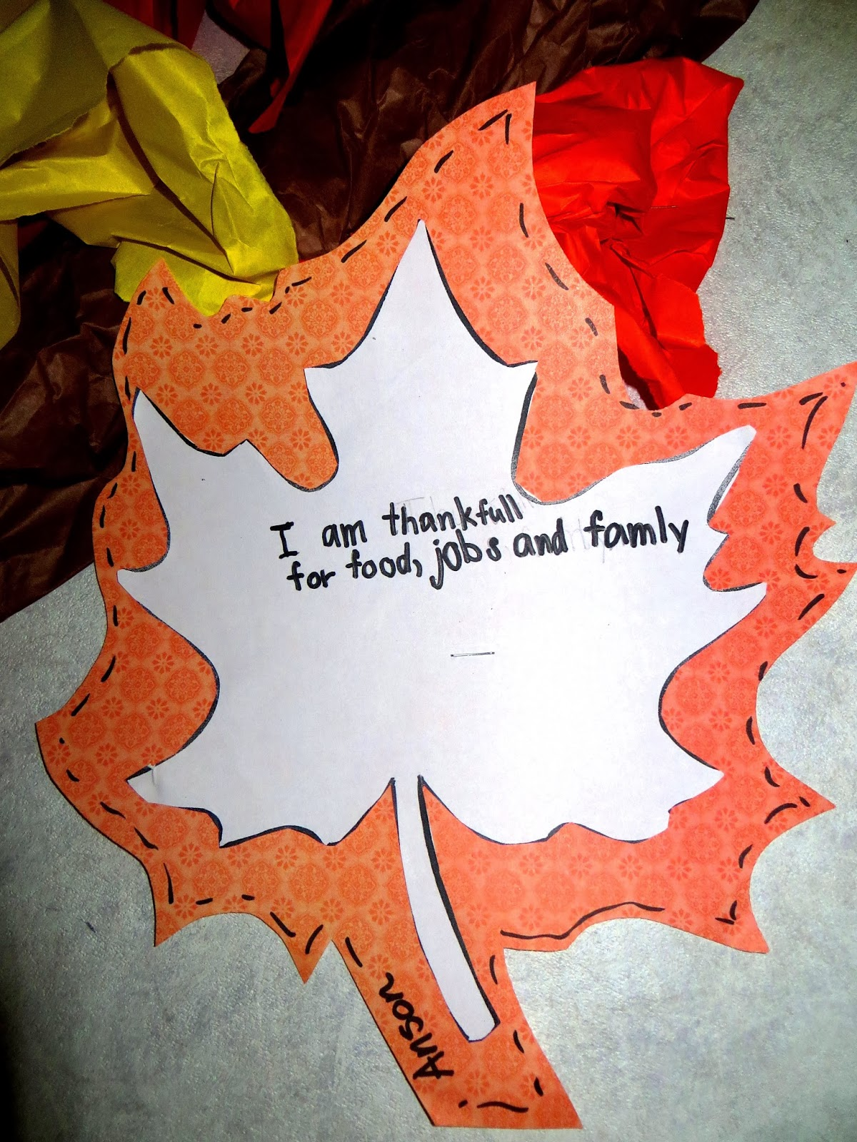 First Grade Wow Tree Mendously Thankful And Samuel Eaton S Day