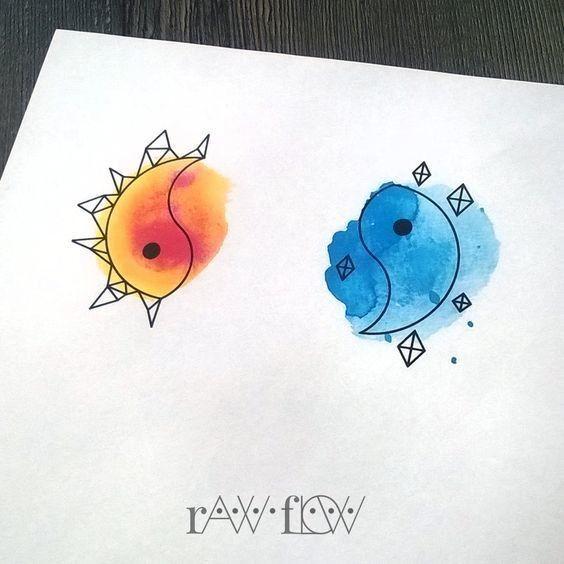 Super cute matching tattoos