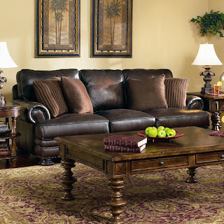 bernhadrt foster leather sofa
