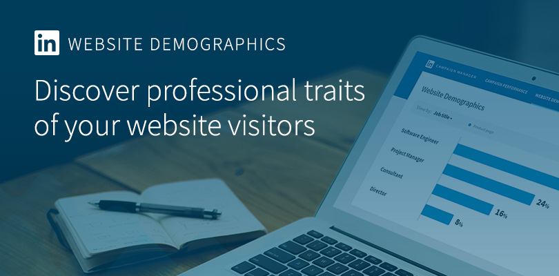 LinkedIn Website Demographics introduce soon