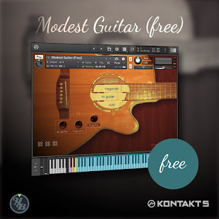 Free Yummy Beats Modest Guitar KONTAKT