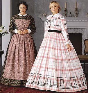 Old fashion clothes for women