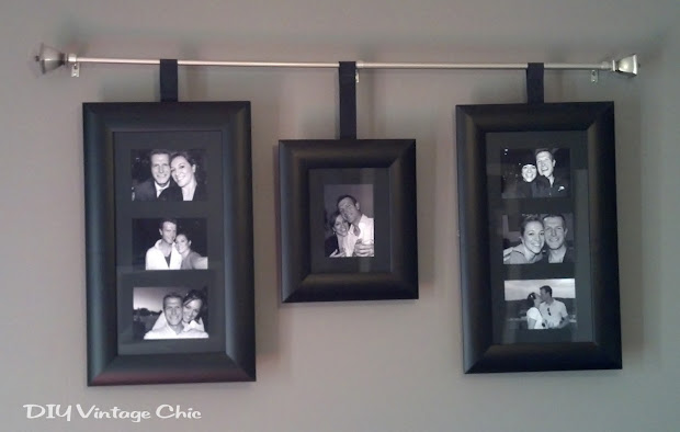 Curtain Rod Hanging Frames