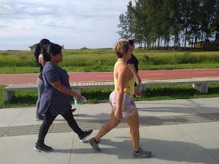 Moradores da Ilha Comprida, todo passo conta
