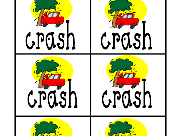 Crash game and Dolch sight words