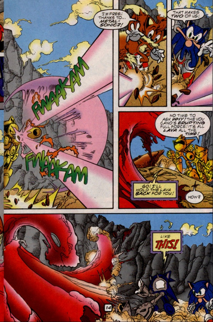 Read online Sonic The Hedgehog comic -  Issue #87 - 14