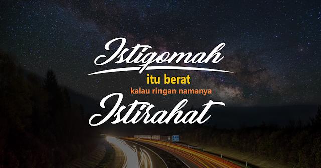 Kata-kata hijrah Istiqamah