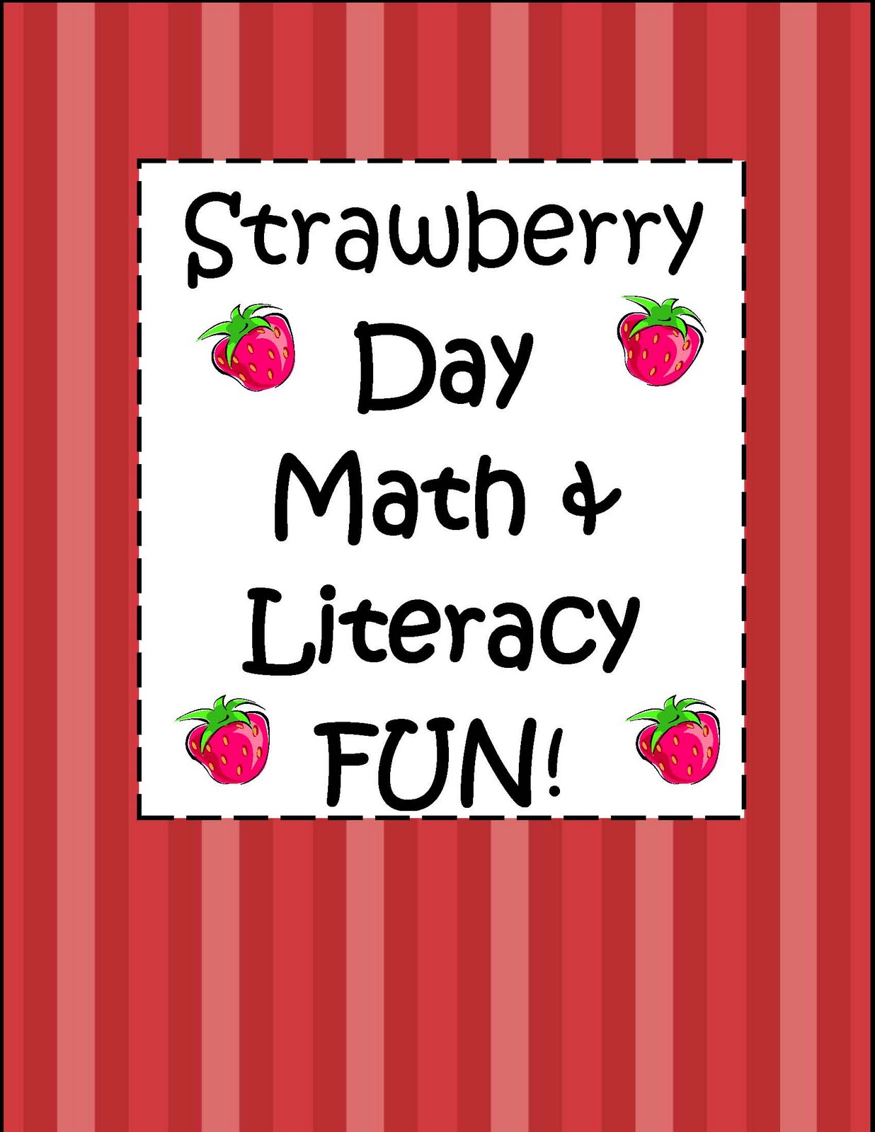 Engaging Lessons And Activities Strawberry Day Math