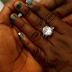 Photo: Nigerian man reveals how he proposed to his girlfriend with a tough condition in Dubai