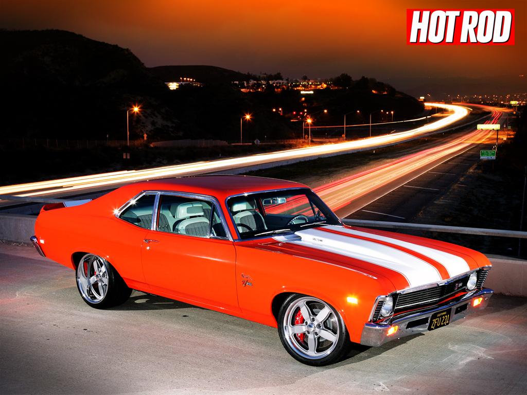 Chevy Muscle Car Wallpaper: Muscle Car Wallpaper