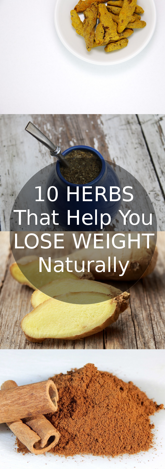10 Herbs that help you lose weight naturally