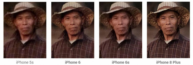 Confronto fotocamere iPhone