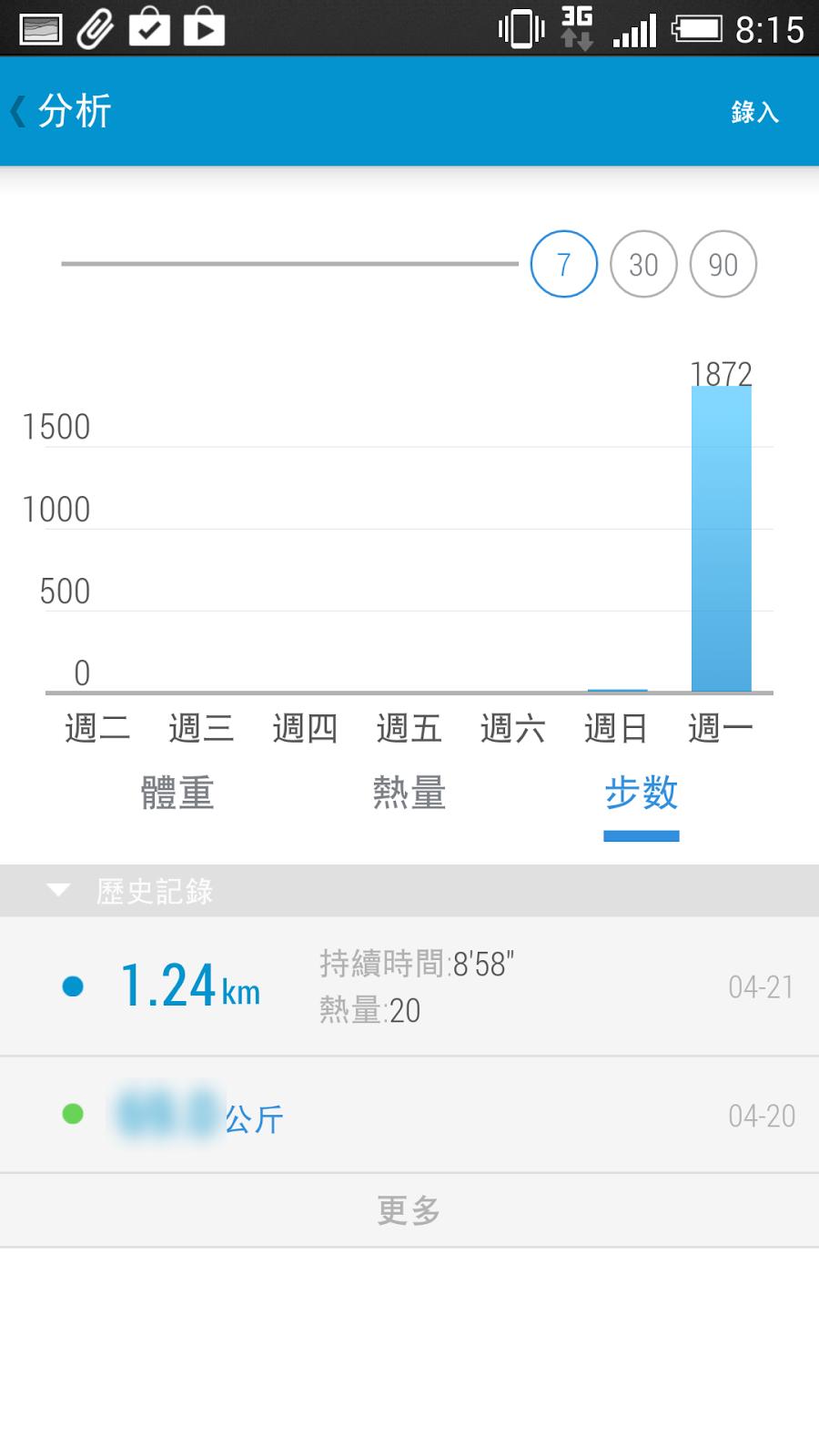 介面精美的計步器 App,熱量消耗自動計算與體重管理 %25E8%25A8%2588%25E6%25AD%25A5%25E5%2599%25A8-05