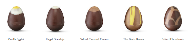 Hotel Chocolat Extra Thick Easter Egg contents