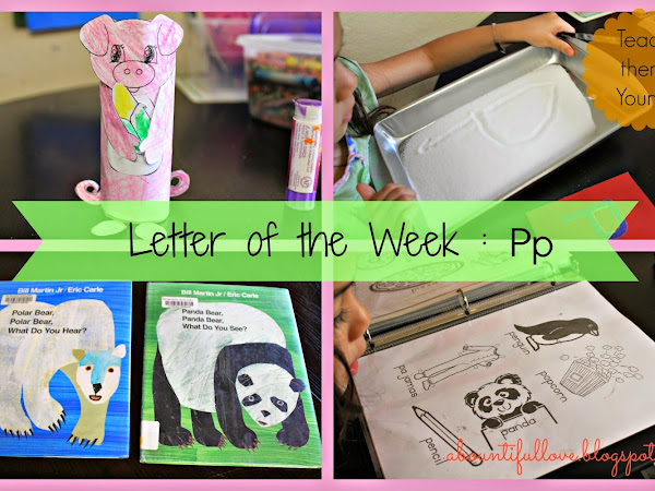 Letter of the Week : Pp
