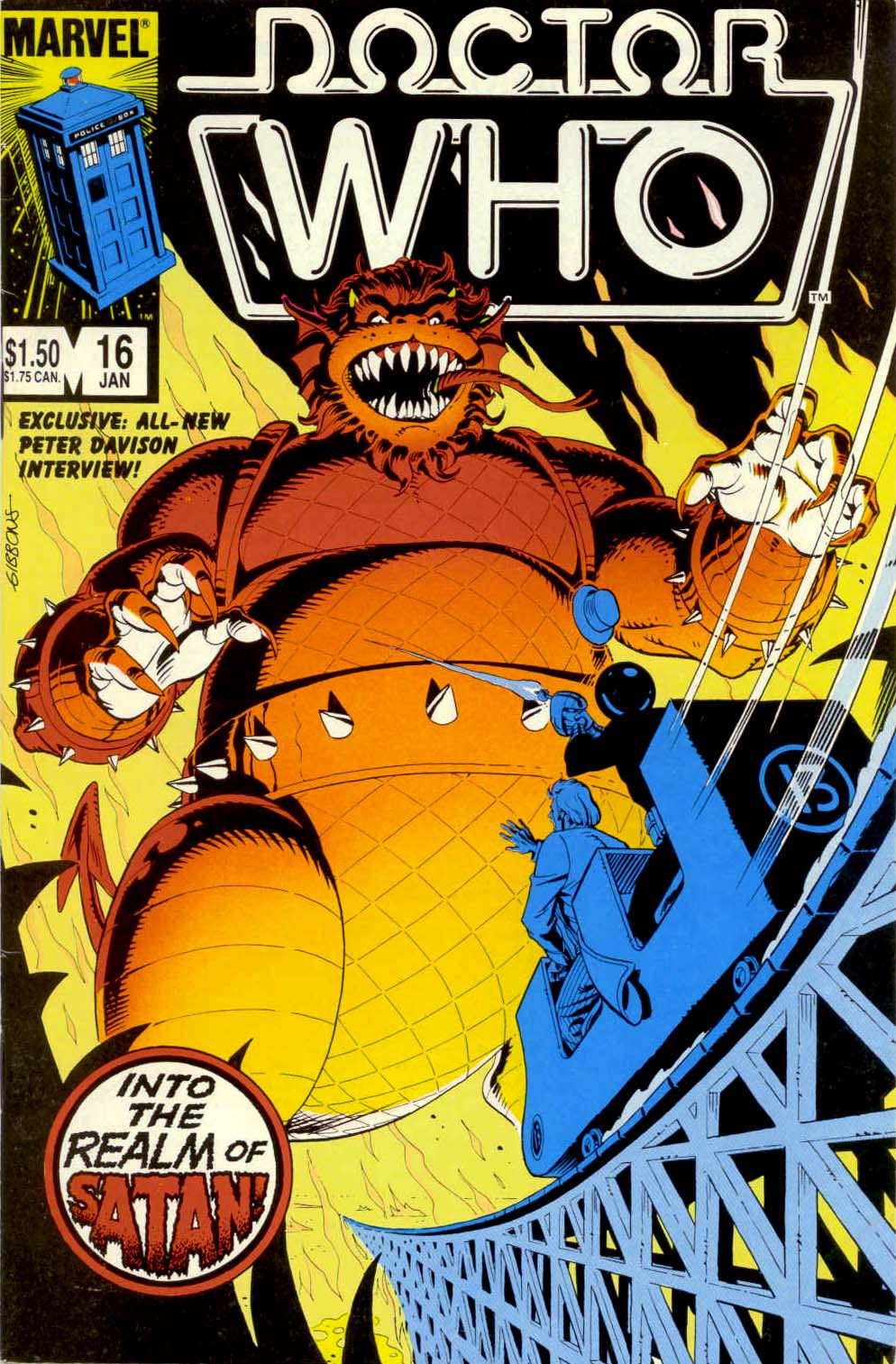 Doctor Who (1984) 16 Page 1