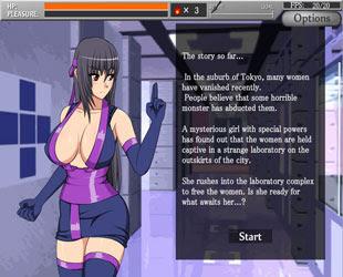 shinobi girl 2 game pc ringan