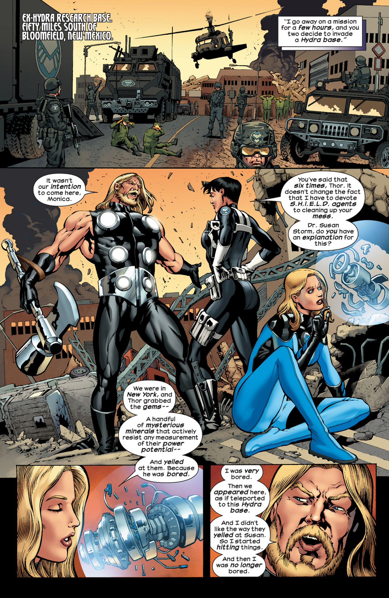 Read online Ultimate Comics Ultimates comic -  Issue #22 - 12