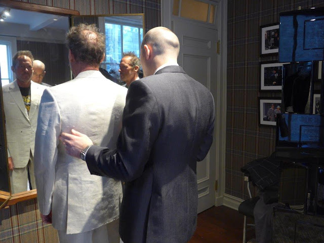 Huntsman Sons, Huntsman, Savile Row, opening, Suits and Shirts, Personal Tailoring, tailor, tailoring, bespoke, New York,